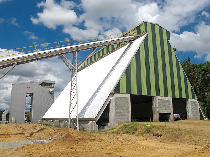 silo cavaco biomassa rosca varredora