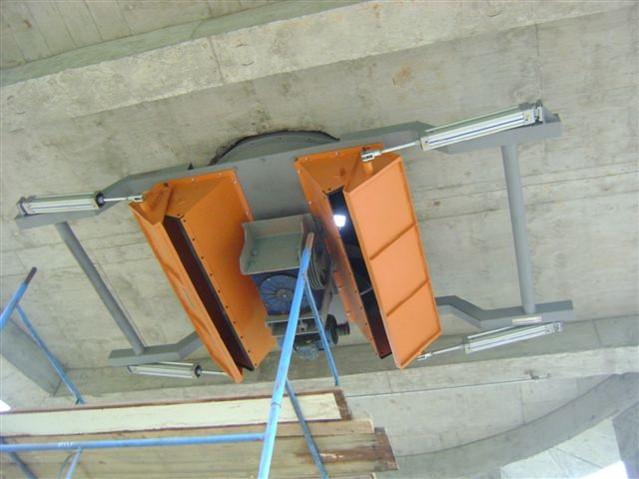 silo vertical descarregador