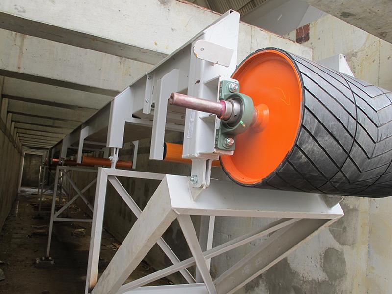 transportador correia cavaco biomassa